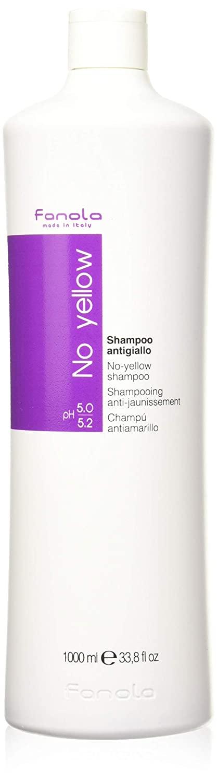 Fanola No Yellow Shampoo, 1000 ml (Pack of 2) ,33.8 Fl Oz,Pack of 2