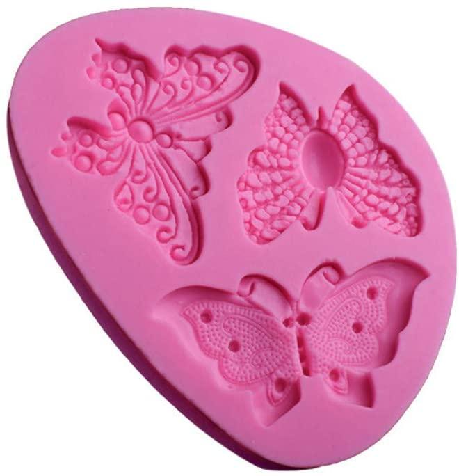 Butterfly Shape Silicone Fondant Cake Mold Decorating Chocolate Bakeware Mould Baking Fondant Cake Molds