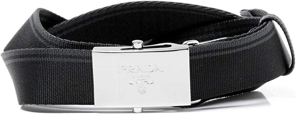 Prada Men's Canvas Belt