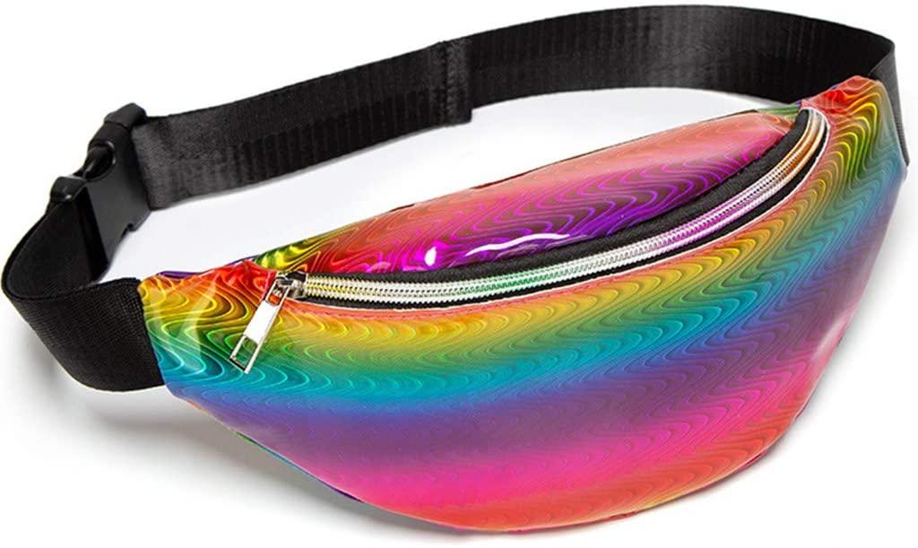 FEIlei Sports Pockets, Fashion Women Waist Fanny Pack Belt Bag Pouch Travel Hip Bum Shoulder Bags- 5
