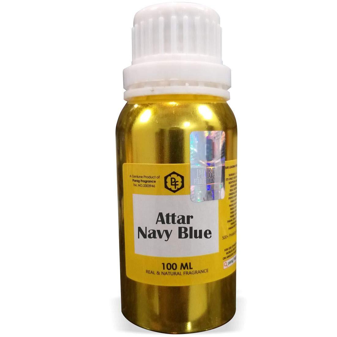Parag Fragrances Navy Blue Attar 100ml (Alcohol Free Attar For Men) Perfume Oil | Scent | Itra