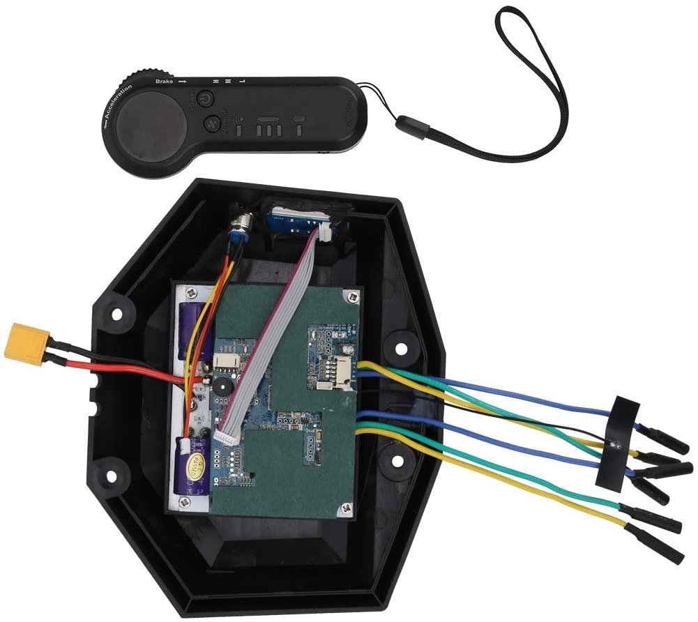 Keenso Electric Longboard Hub Motor, Aluminum Skateboard Module Hub Motor Controller Sensitive Drive Controller Box Set