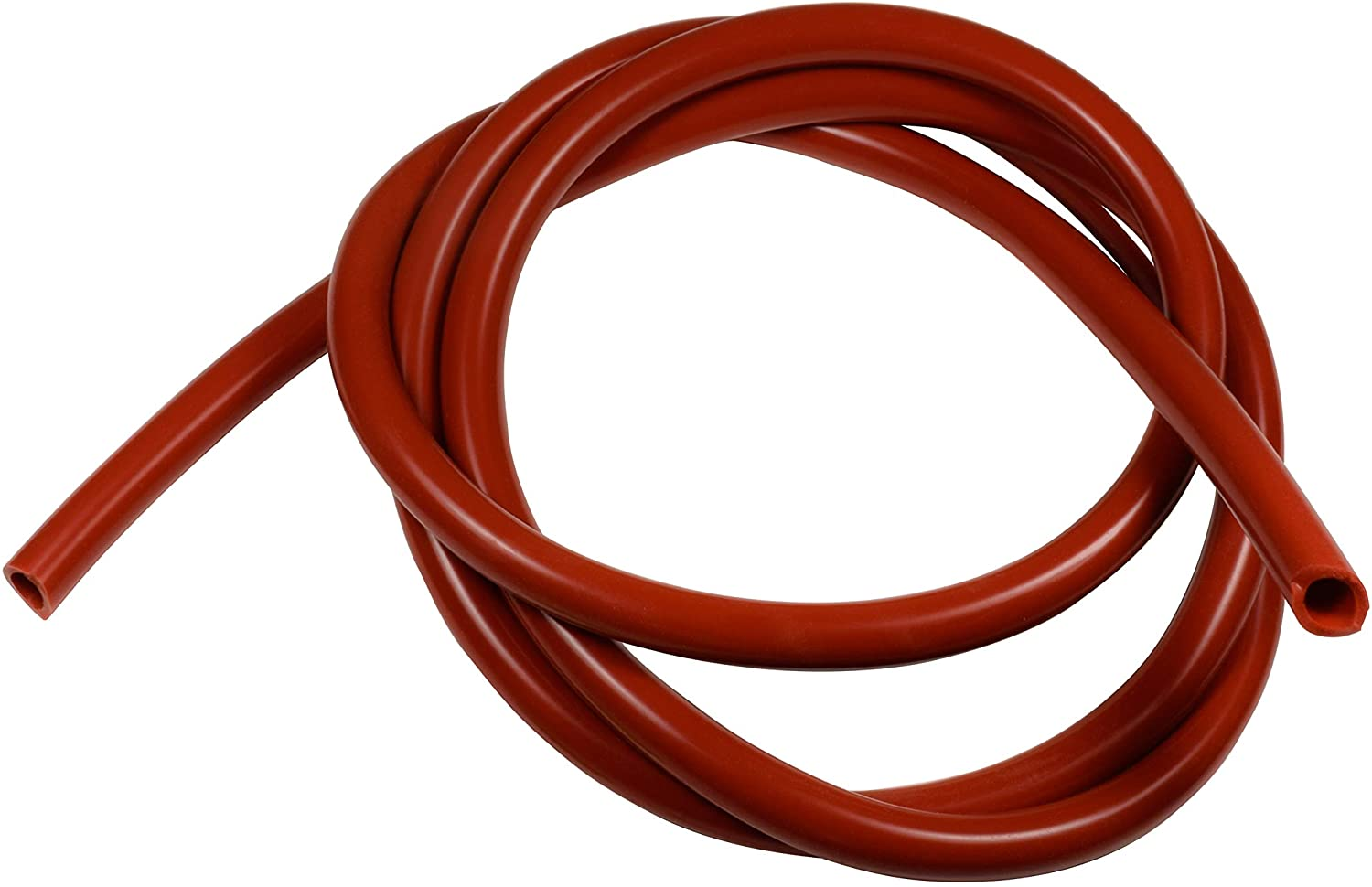 Univen High Temp Food Grade Red Silicone Tubing 8mm ID X 12mm OD Per Foot (5)