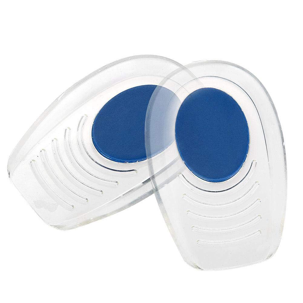 Duevin Heel cushions Silicone Heel pad Heel support pads, heel liners gel cups for heels and cushions Absorption Silicone heel cups(S(710.5CM))