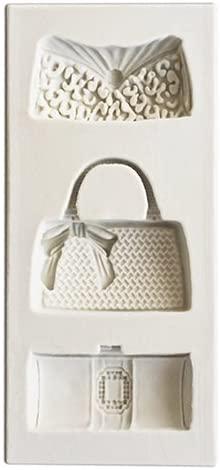 O'Creme Silicone Fondant Mold, Ladies Handbags