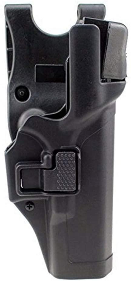 Gexgune Tactical Holster Military Concealment Level 3 Lock Right Hand Waist Belt Gun Pistol Holster (4 Models 2 Colors Optional)