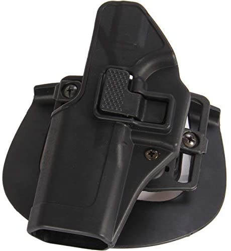 ProudCarry Tactical OWB Paddle Holster with Trigger Release Adjustable Cant Serpa Concealment Holster
