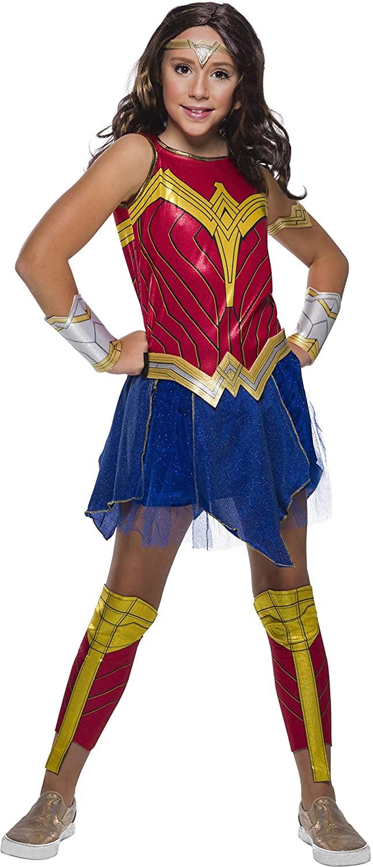 Rubie's Girl's DC Comics WW84 Deluxe Wonder Woman Costume Set, Small (701002_S)
