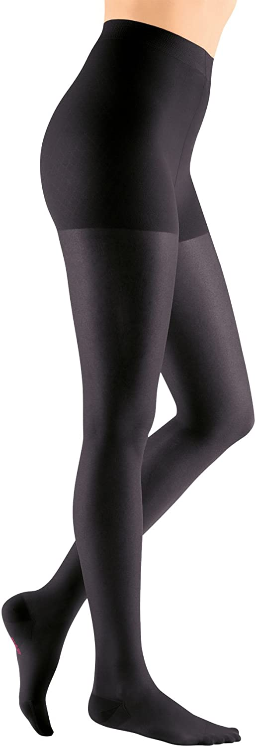 mediven Sheer & Soft, 20-30 mmHg, Maternity Pantyhose, Closed Toe