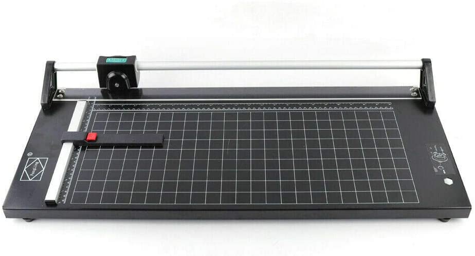 Manual Precision Rolling Cutter Rotary Photo Paper Trimmer Sharp Precision Photo Paper Cutter W/Free Blade (36inch)