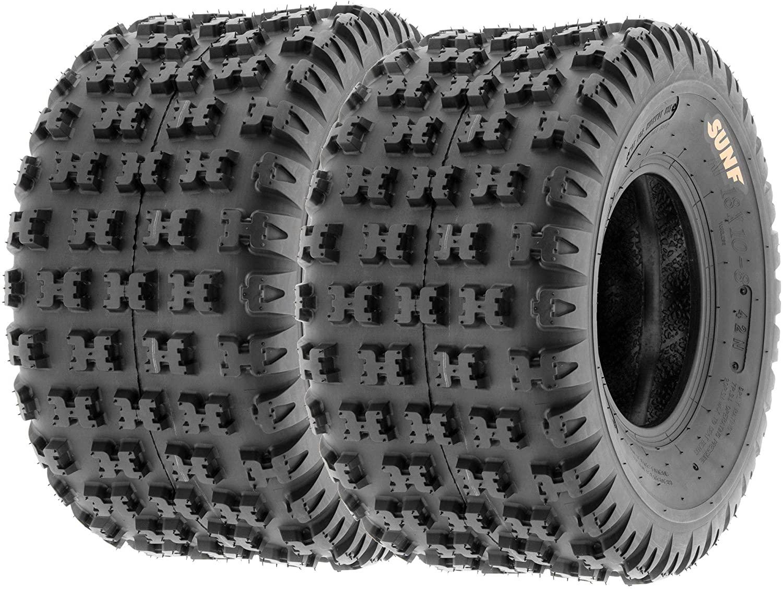 Set of 2 SunF A031 Sport-Performance ATV/UTV Tires 20x11-9, 6-PR, AT-XC-SP