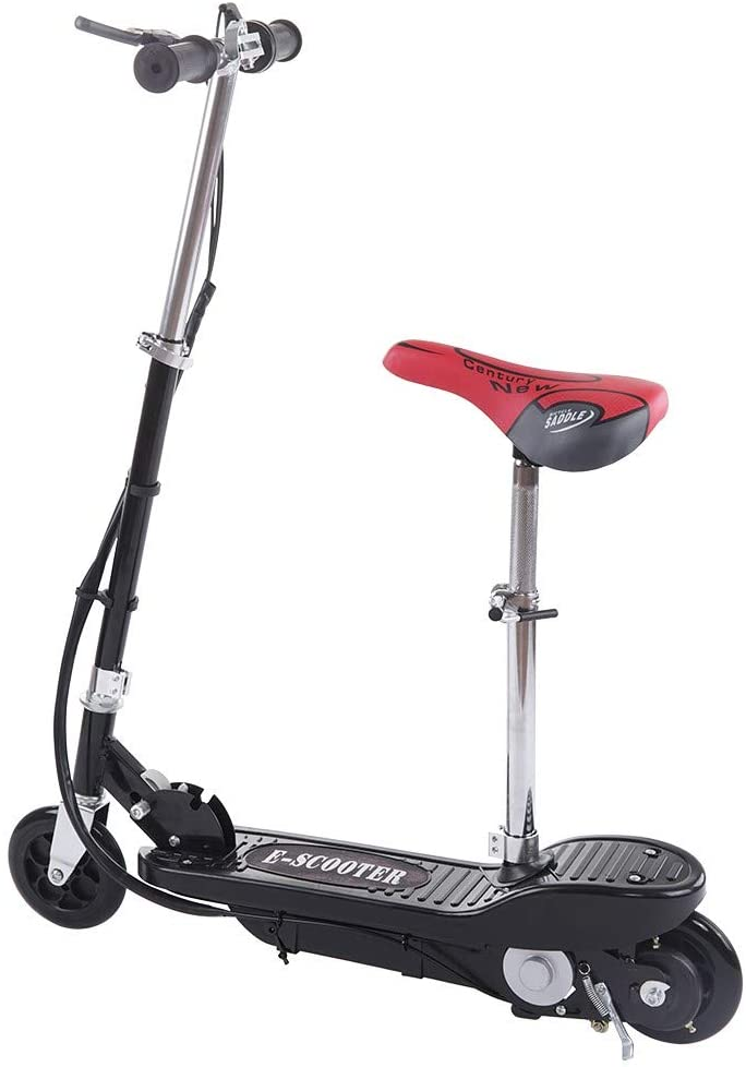 Electric Scooters for Adults Teens & Kids   Electric Scooter for Girls with Seat   Cheap Foldable Rechargeable Seated Ultra-Lightweight   for Outdoor Commute