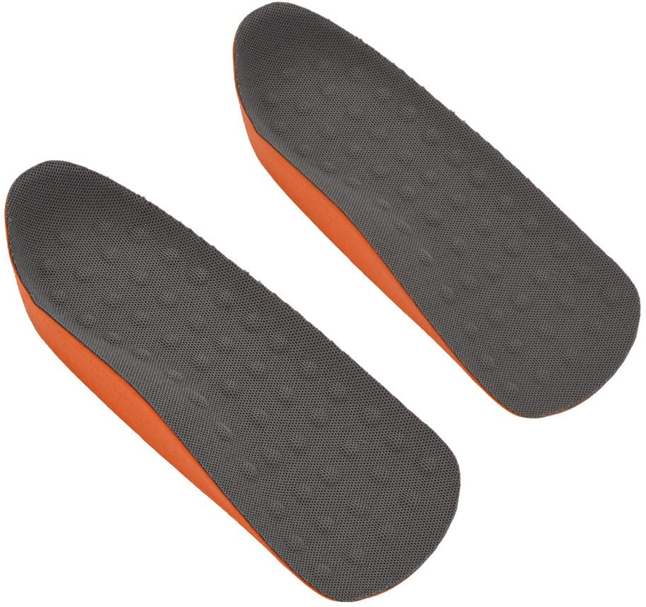 LetCart 2.5cm Invisible Height Increase Insoles-Breathable and Sweat Absorptive Insert Insoles(L(40-45))