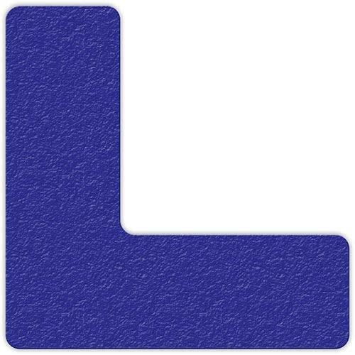 Floor Marking Tape, Blue, L Shape, 25/Pkg, LM110B (LM110B)