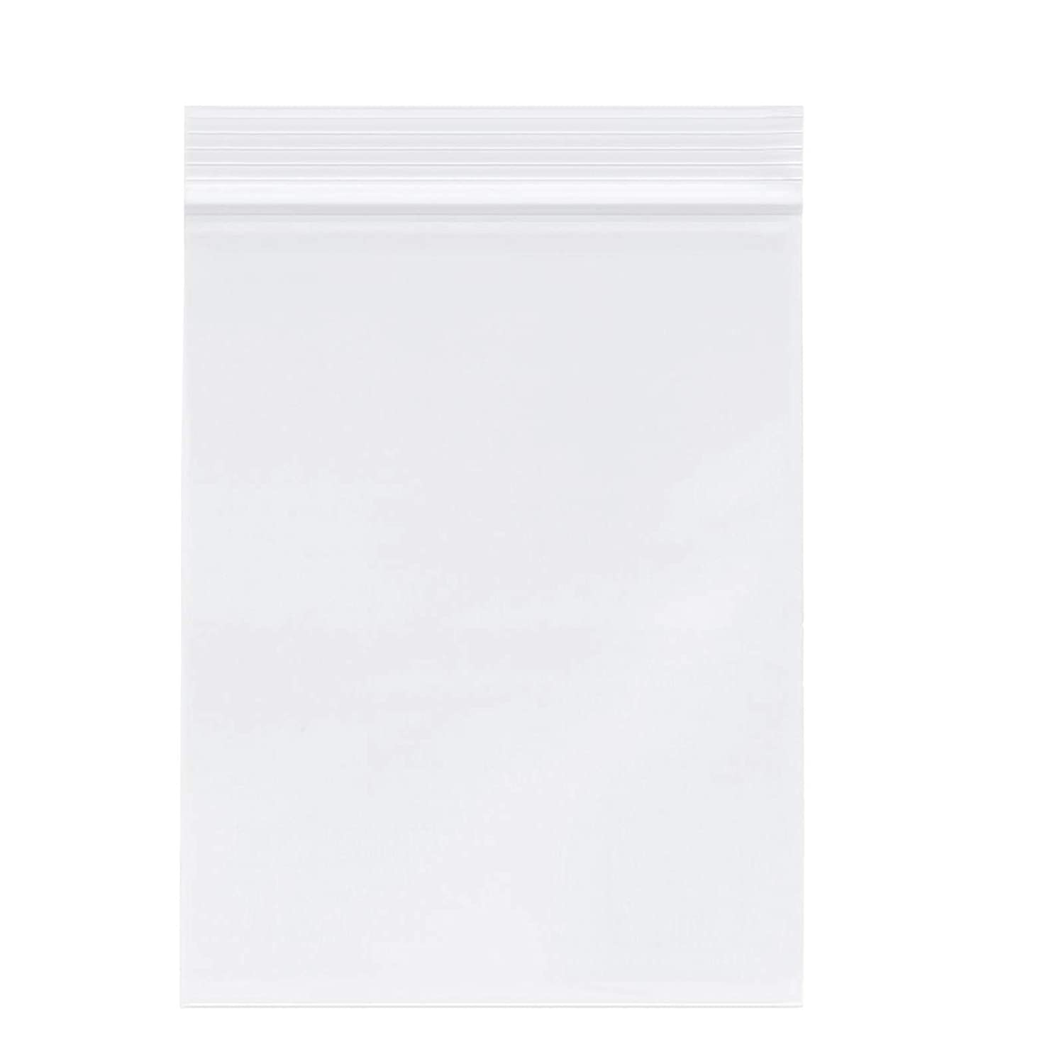 "3"" X 5"" (1000 PCS) Clear Reclosable Zip Poly Plastic Bags - 3.15 Mil Resealable Lock Seal Zipper Poly Bags for Coins, Jewelry, Snacks, Seeds"
