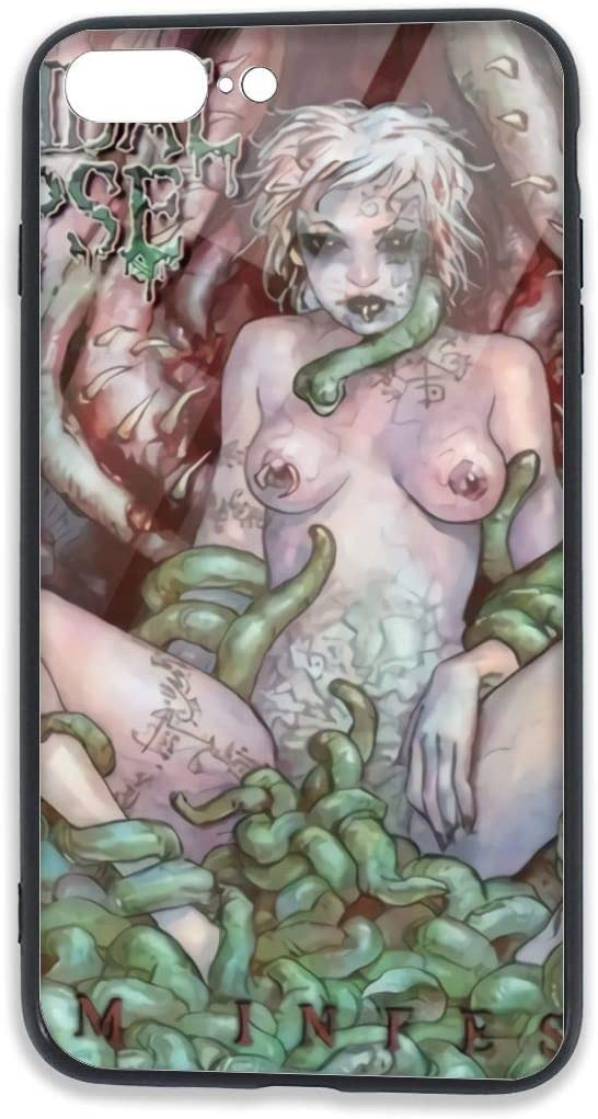 KarlMRush Cannibal Corpse Worm Infested iPhone 7/8 Plus TPU Glass Case,Phone Case,5.5 Inches