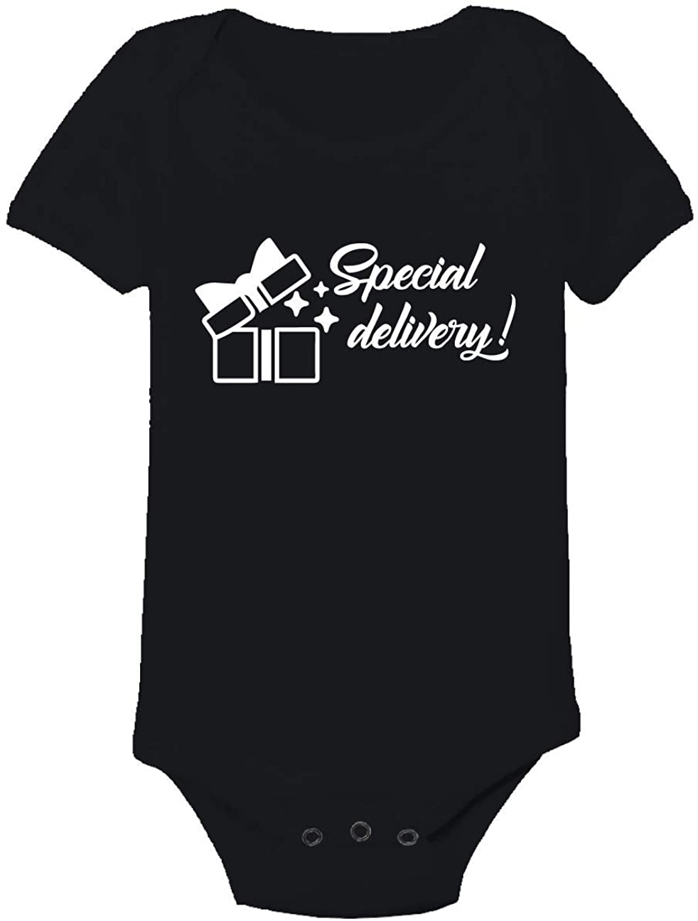 All Things Valuable One-Piece Special Delivery Baby Romper Outfit/Babies Toddler Fashion Clothes