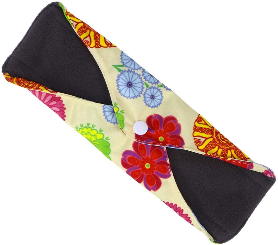 SUPVOX Reusable Sanitary Pads Washable Cloth Menstrual Pads Sanitary Napkins for Women