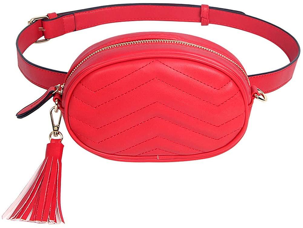 JUMENG Fanny Waist Pack for Women Fashion Running Belt Fanny Pack Bum Bag Travel