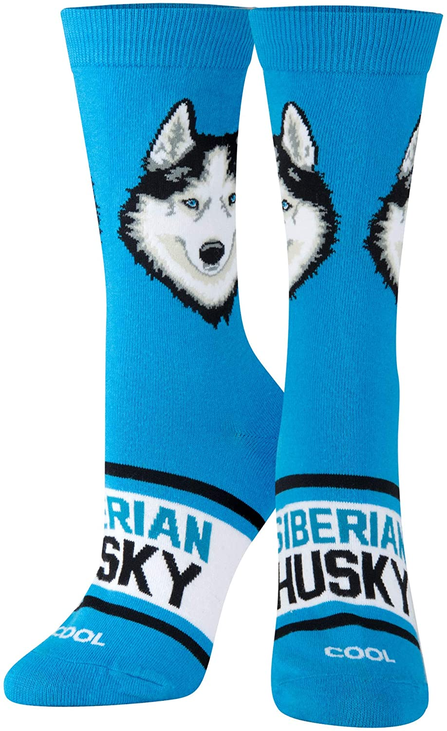 Cool Socks, Women's, Animals, Dogs and Puppies, Crew, Novelty Funny Silly Cute