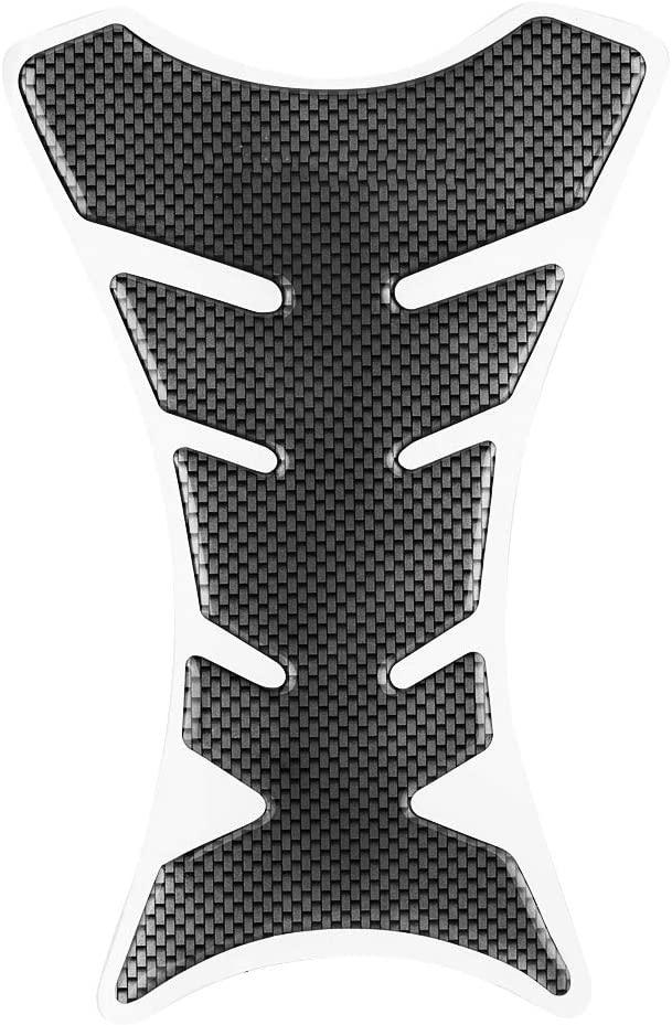 Motorcycle Tank Pad Protector, Carbon Fiber Gas Fuel Tank Pad Protector Sticker