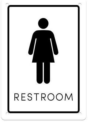 CGSignLab |Womens Restroom Sign .040 Industrial Rust-Free Aluminum OSHA Safety Sign | 7x10