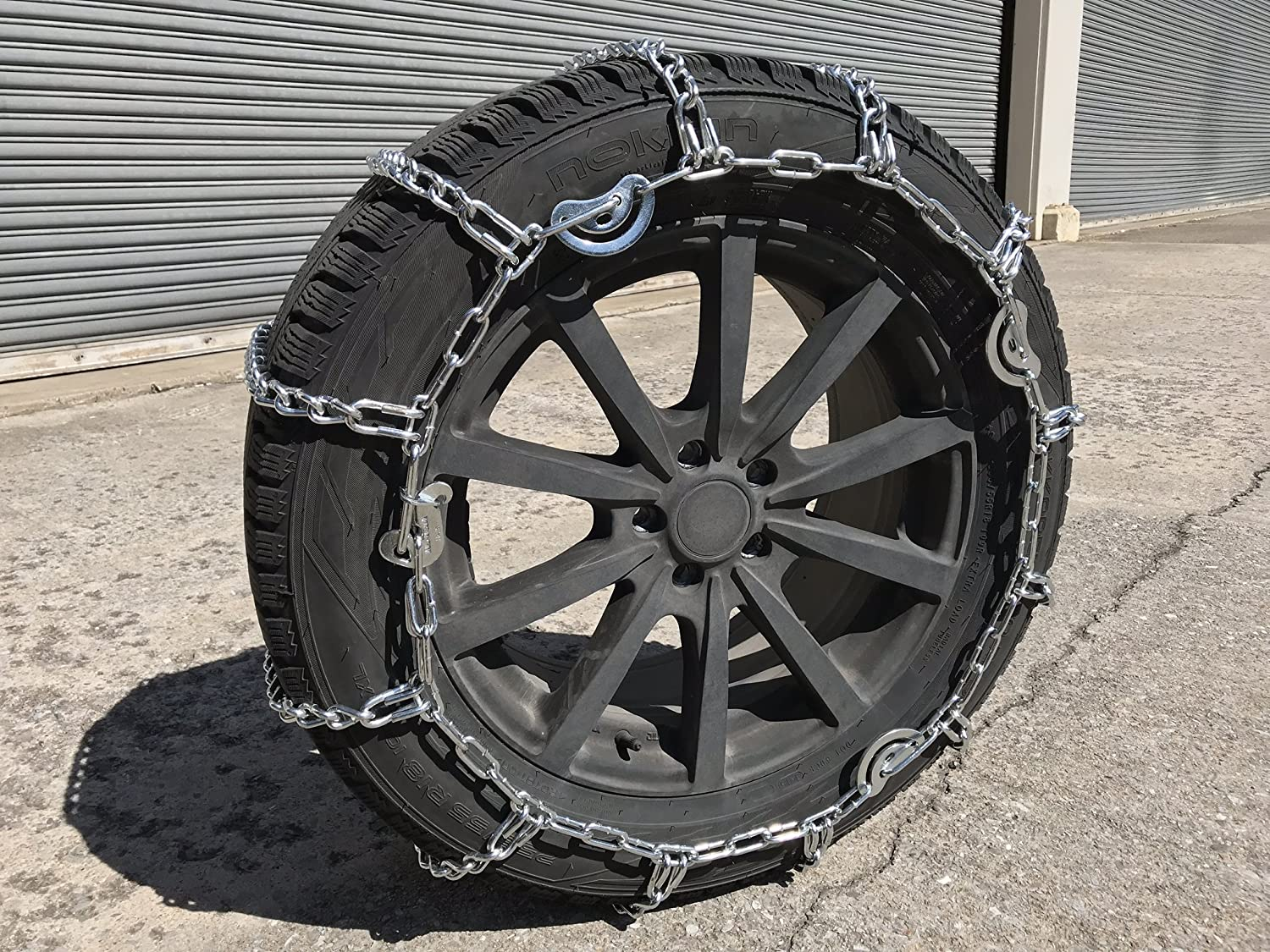 TireChain.com 9.50-16.5, 9.50 16.5 Cam Tire Chains, w/Spider Tensioners