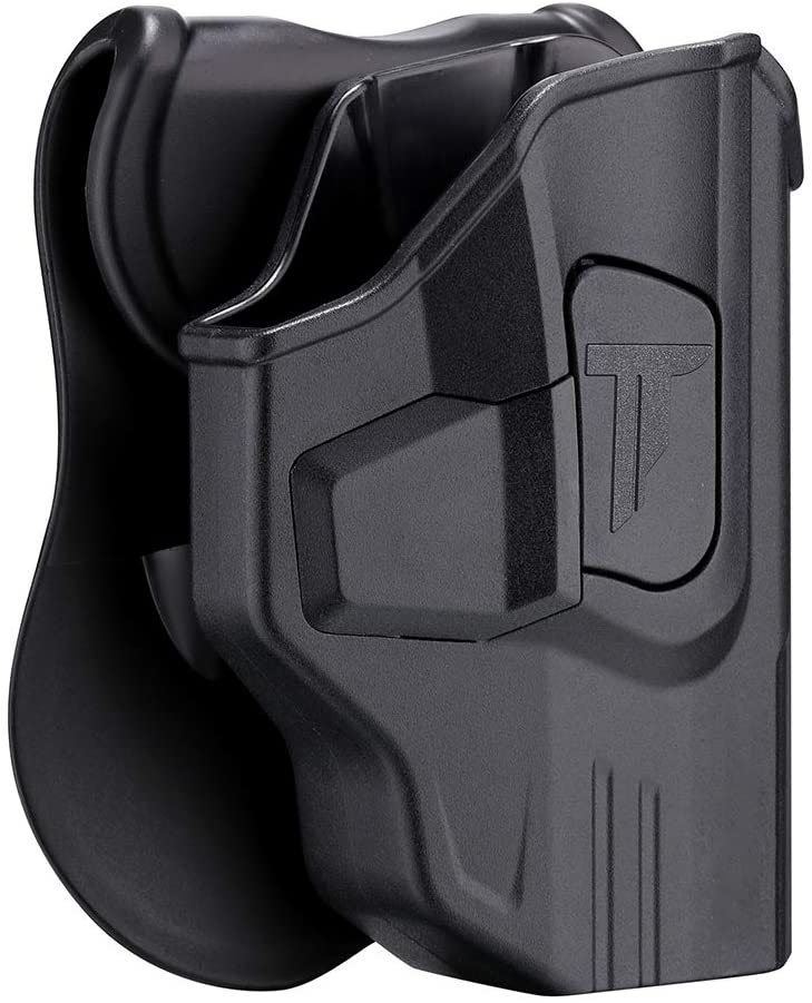 Taurus G2C Holster, OWB Paddle Holsters Fit Taurus PT111 Millennium G2/G2C/G3C/PT132/PT138/PT140/PT145/PT745, Outside Waistband Tactical Gun Holster, Adjustable Cant & Trigger Release - Right Handed