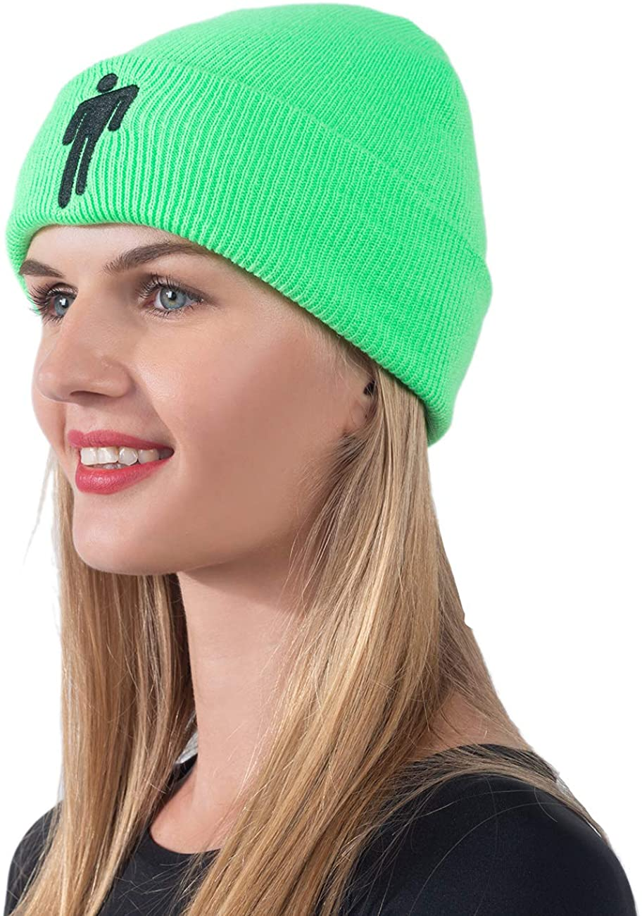Greneric Slouchy Beanie for Women Knitted Hats Winter Outdoor Soft Stretch Ski Warm Cap Unisex