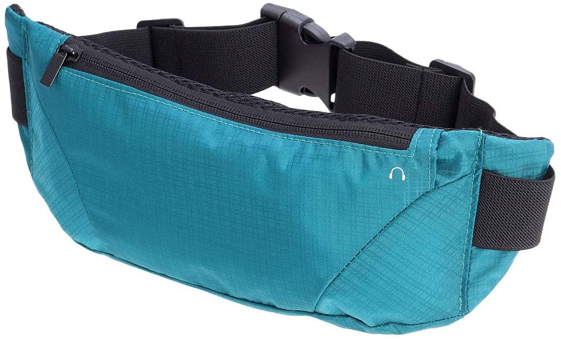FENICAL Running Waist Bag Sport Multi-Function Outdoor Lightweight Fanny Packs for Man Woman (Blue)