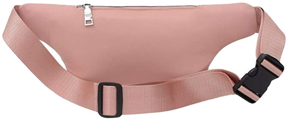 VALICLUD Women Waist Pack Bag Crossbody Chest Bag Pink Running Belt Crossbody Shoulder Purse for Women Girls