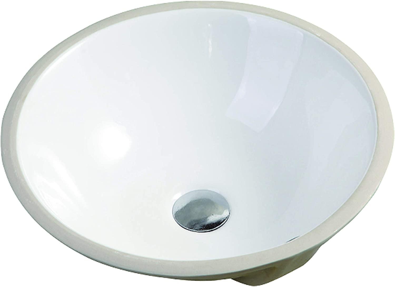 Safavieh BSK5404A Solea Collection Nerida Bathroom Basin Sink, White