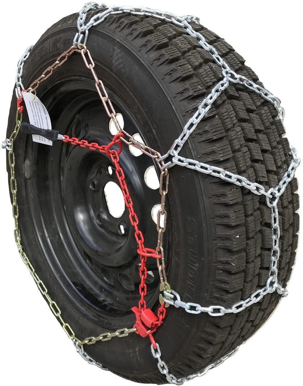 TireChain.com 305/50R20, 305/50 20 ONORM Diamond Tire Chains Set of 2