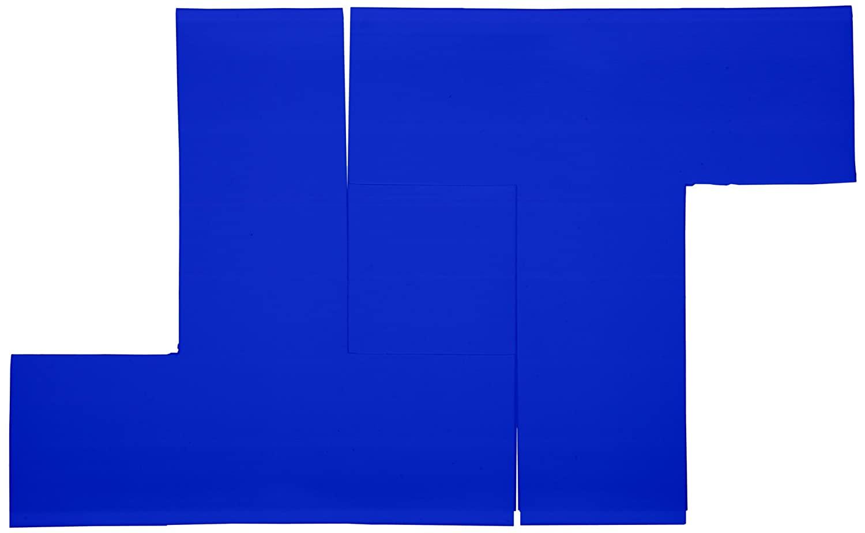 Mighty Line BT Floor Marker T Shape Tape 6 Length, 6 Width, Blue (Pack of 100 per Roll)