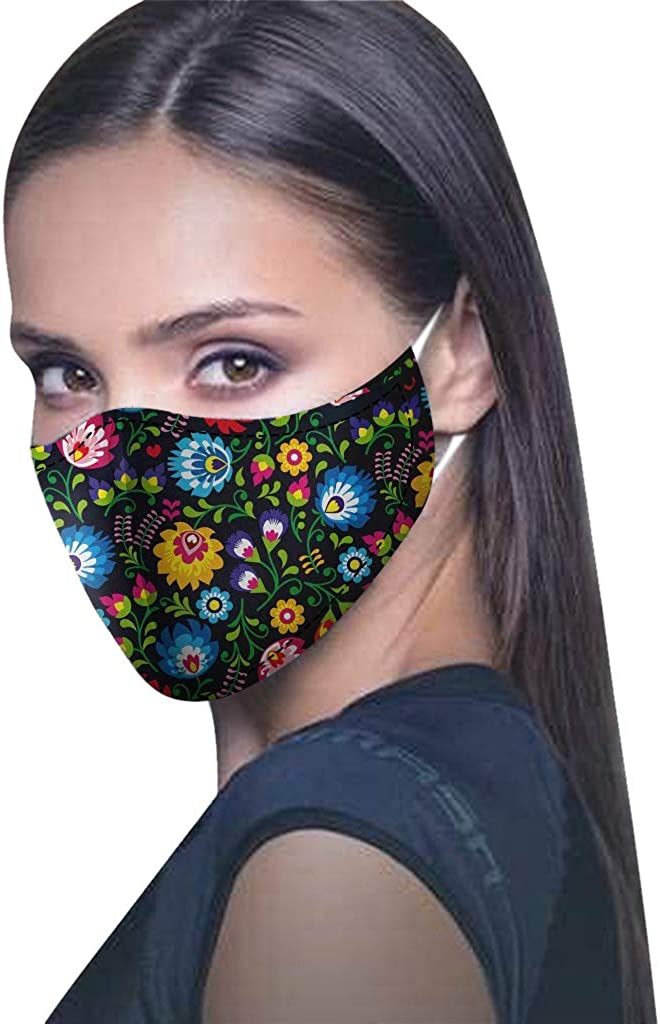 Facial Protection Cover Reusable Washable Fashion Full Face Protection Masks Breathable 100% Cotton Anti-Fog