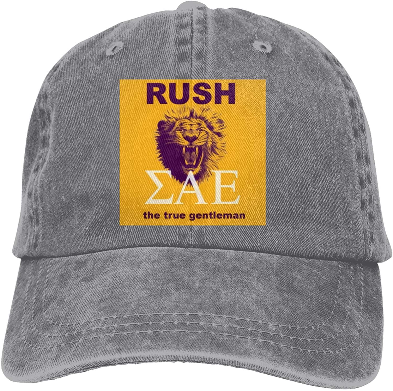 SAE Sigma Alpha Epsilon Baseball Caps for Wome Men Trucker Hats Vintage Snapback