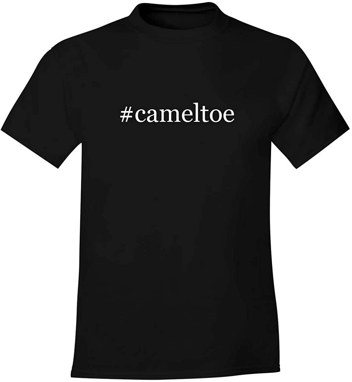 #cameltoe - Men's Soft Comfortable Hashtag Short Sleeve T-Shirt