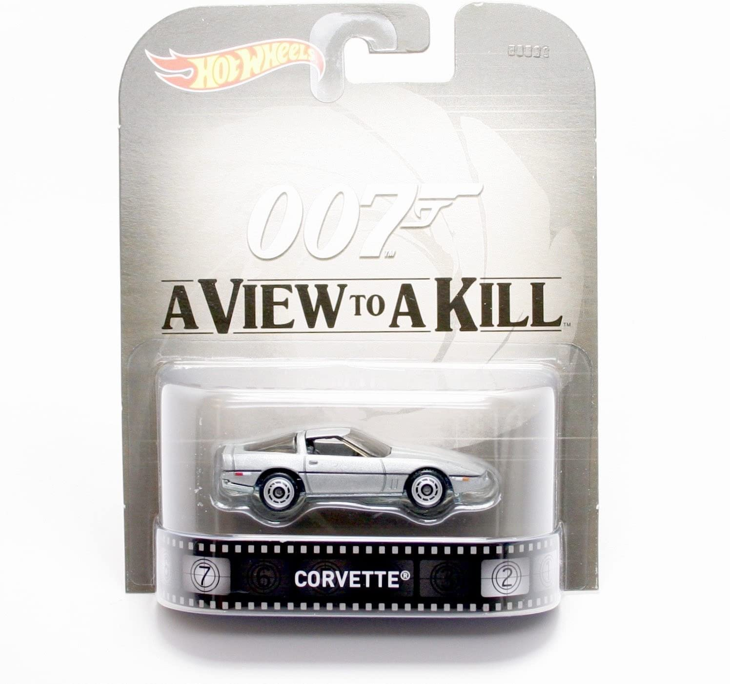 Hot Wheels Corvette James Bond 007