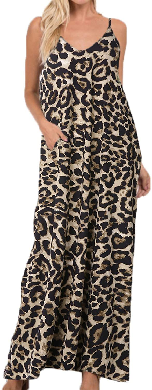 ZANZEA Women Casual Long Sleeve Tie-dye Floral Print Dress V Neck Pockets Loose Maxi Dress