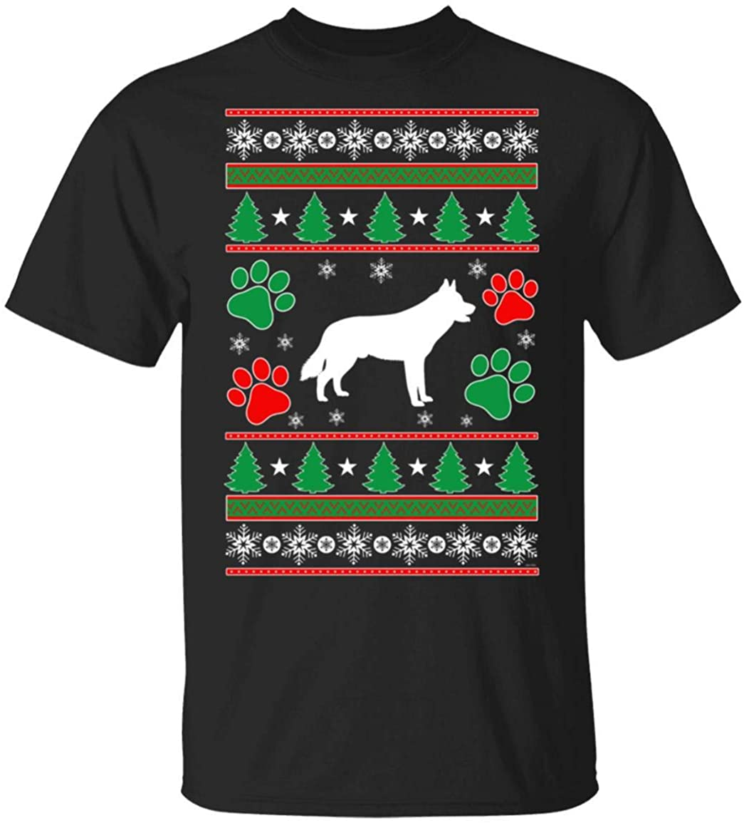 Siberian Husky Mom Lovers Gift Ugly Christmas T-Shirt Gift for Christmas Hoodie Sweatershirt Custom