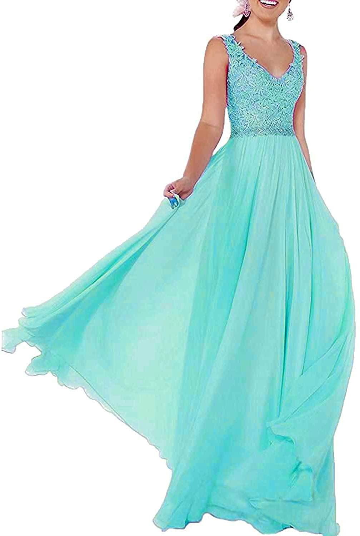 Lorder Queen Lorderqueen Women's Prom Dress Bridal Lace Bridesmaids Dressses