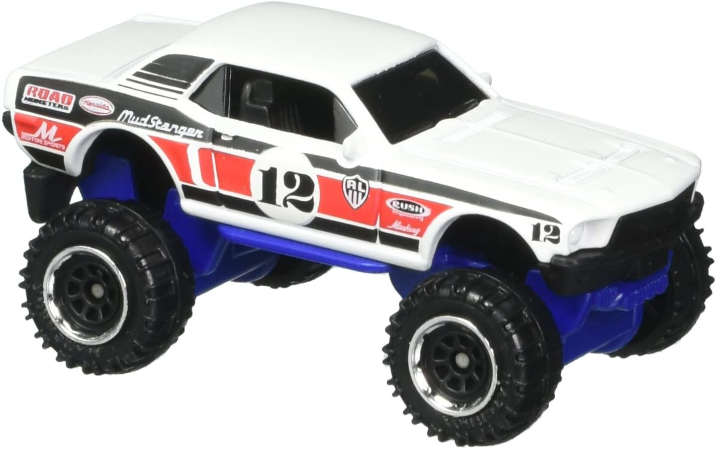 Matchbox 2017 MBX Explorers '68 Ford Mustang 124/125, White