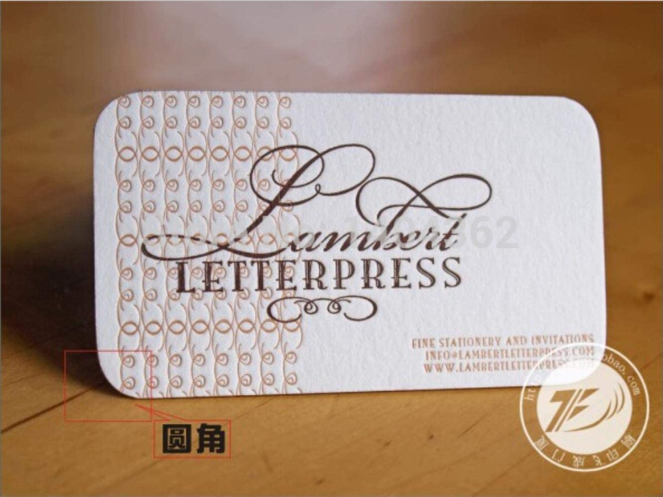 Custom 500pcs Specialty Paper 270g Business Cards Business Card Printing