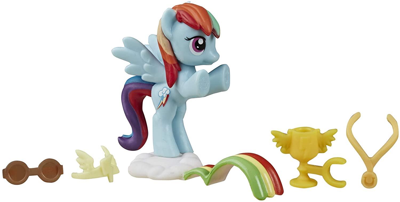 My Little Pony Friendship is Magic Rainbow Dash Loves to Race Mini Set