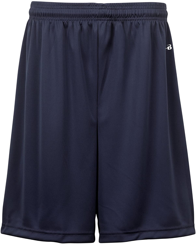 Badger Sportswear Men's B-Dry Performance Short, Navy, Large