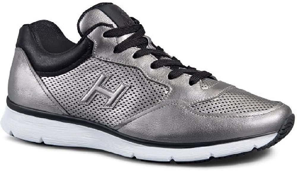 Hogan Men's Laminated Calf Leather Sneakers Shoes