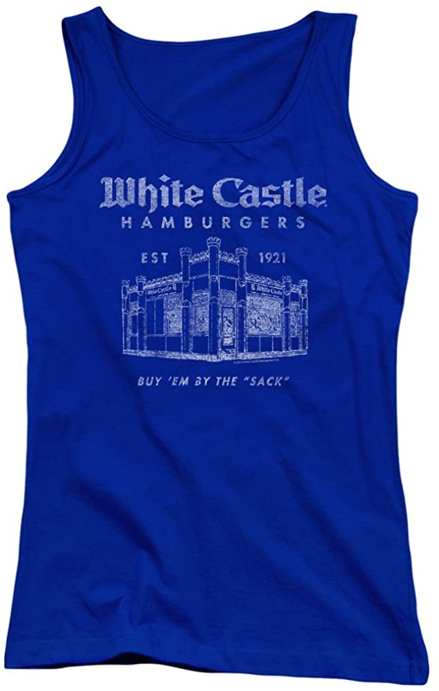 White Castle - Juniors by The Sack Tank Top