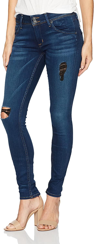 HUDSON Jeans Women's Collin Midrise Skinny Jean
