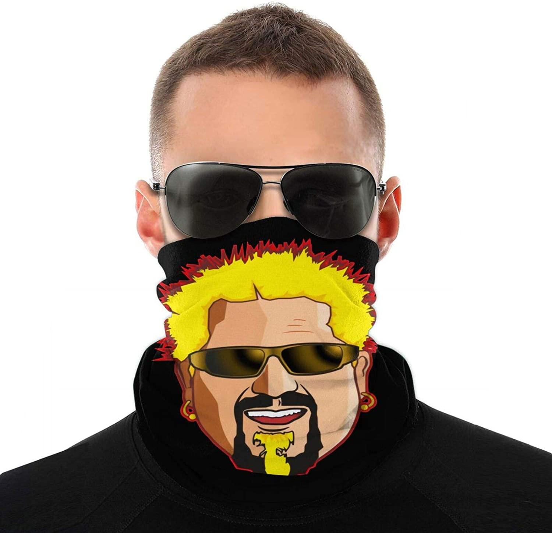 Flavortown Bandana, Protective Face Scarf Mask, Outdoor Neck Gaiter