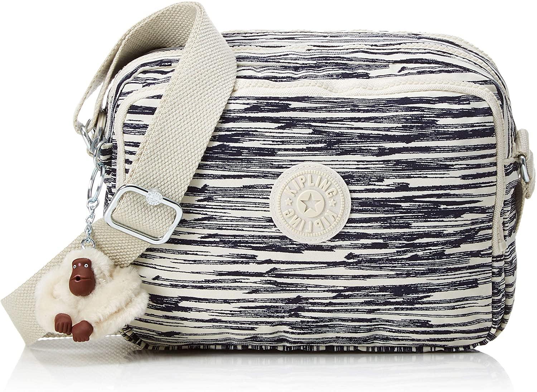 Kipling Cross-Body Bag, Multicolour (Scribble Lines)